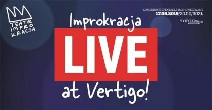 Improkracja live at Vertigo! ; Jazz jam session