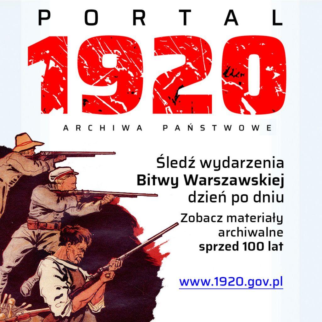 Bitwa Warszawska - Prezentacja portalu www.1920.gov.pl