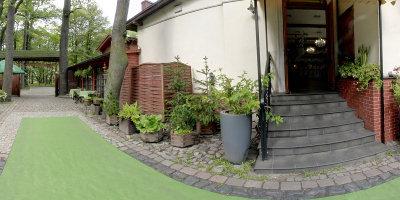Leśniczówka - Parkowy Dom Weselny - Wejście