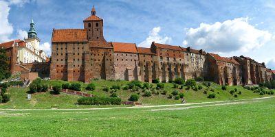 Błonia Nadwiślańskie - Panorama na Spichrze